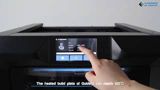Flashforge Guider II Industrial Use 3D Printer.