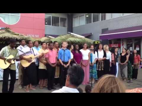 Open air concert in tonga