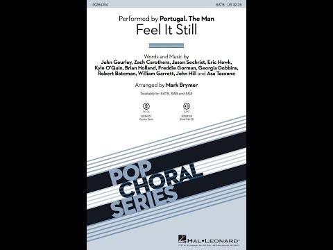 Feel It Still (SATB) - Arranged by Mark Brymer
