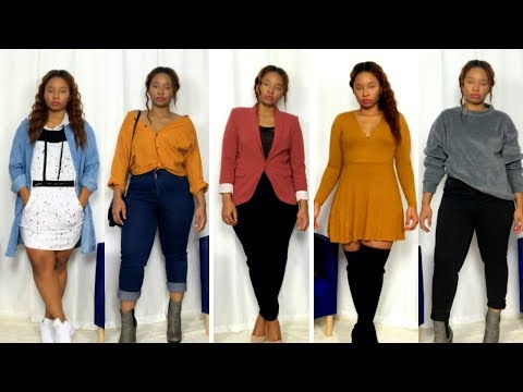 Repeat How To Style Thigh High Boots thrift Try On Haul