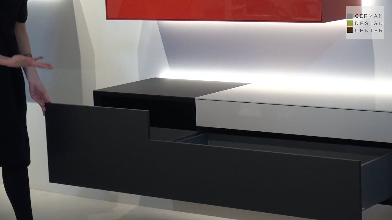 piure at isaloni nex box modern sideboards youtube. Black Bedroom Furniture Sets. Home Design Ideas