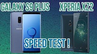 Sony Xperia XZ2 vs Samsung Galaxy S9 Plus - Speed Test!
