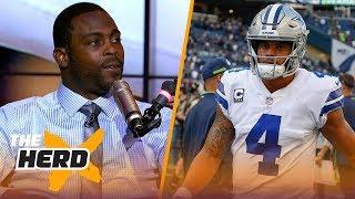 Michael Vick talks Jimmy G's injury, Dak Prescott's offensive struggles   NFL   THE HERD