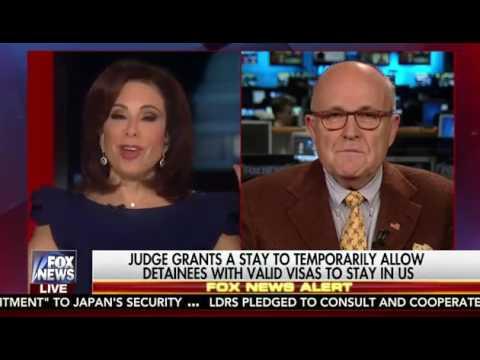 Rudy Giuliani Admits It Is a Muslim Ban