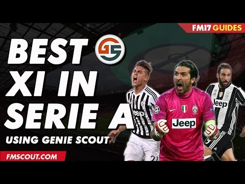 Best XI In Serie A Using Genie Scout - Football Manager 2017