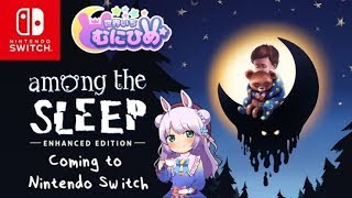【switch】Among the Sleep 1回目☆【ホラゲー】