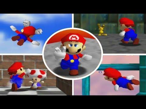Super Mario 64 All Bosses Doovi
