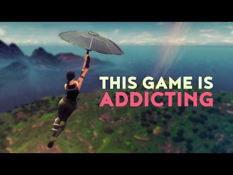 This Game Is Addicting! (Fortnite Battle Royale)