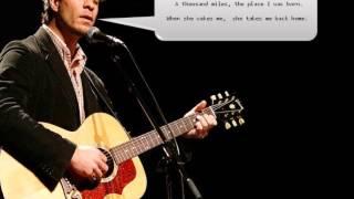Amos Lee - Arms of a woman (Lyrics)