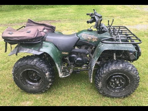 YAMAHA 350 4x4 BIG BEAR 4-wheel ATV FOR SALE