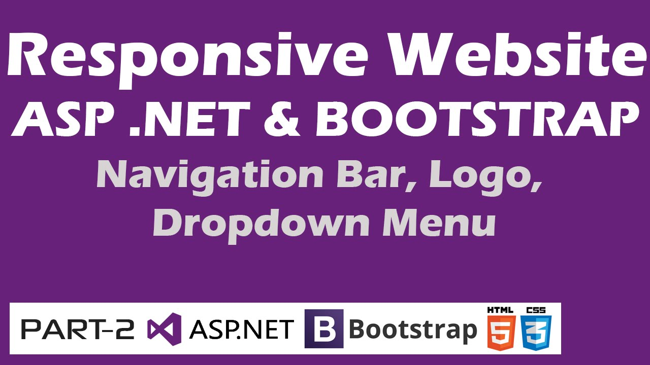 Responsive Website - ASP .NET & Bootstrap - Part 2 ...