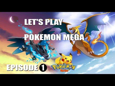 Pokemon Mega: 1 Day Let's Play Episode 1
