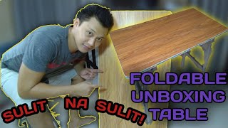 Foldable Computer Table UNBOXING|REVIEW