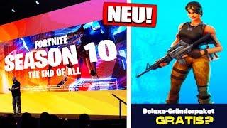 Fortnite Season 10 FREE Save the World? | Info & rumours! - Fortnite Battle Royale German