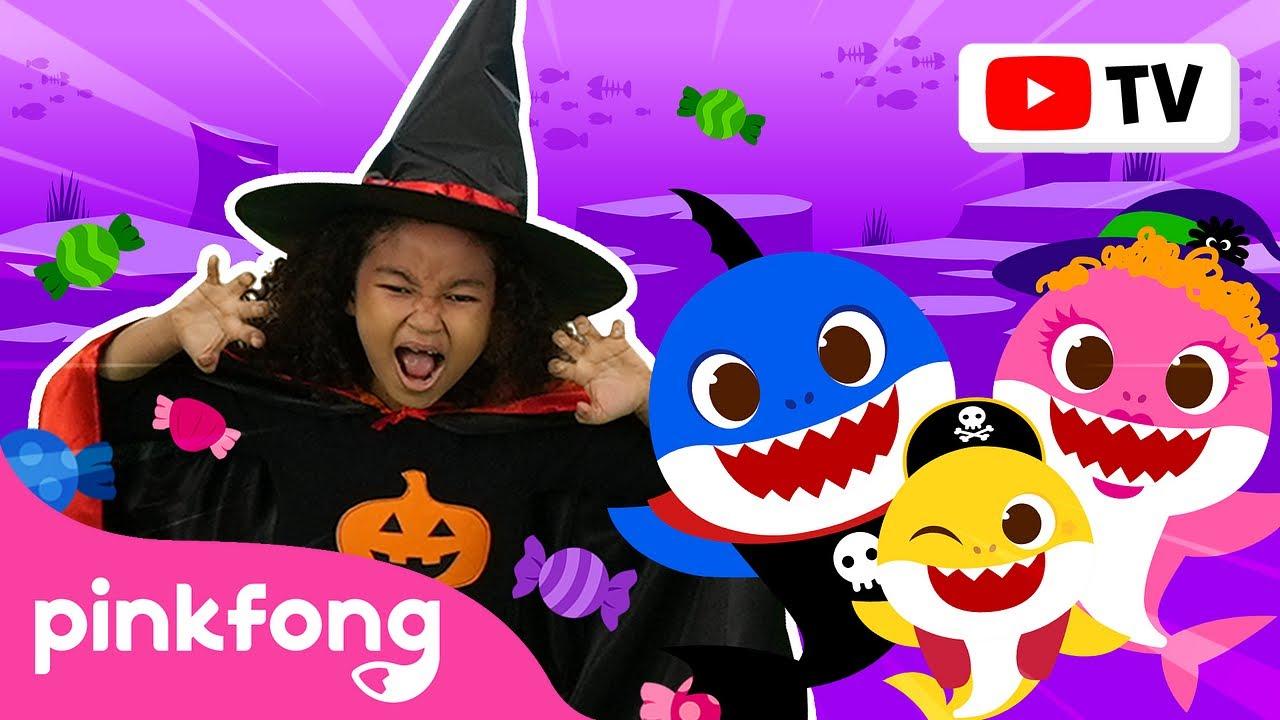 Baby Shark Dance (Halloween ver.)🎃🎶 | Halloween Song | Dance Along | Pinkfong Videos for Kids
