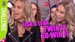Lisa and Lena CHALLENGE! Twin It To Win It!