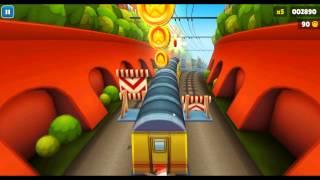 Subway Surfers Бегаем по поездам,Экран (5).