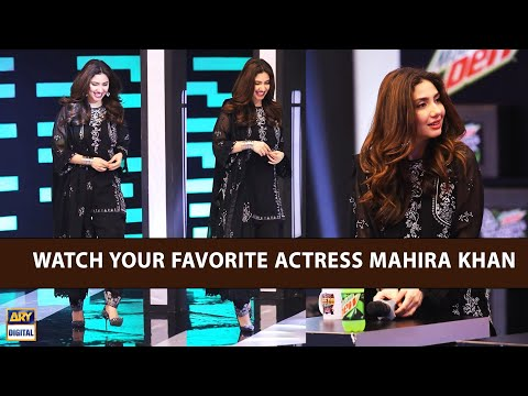 Watch Your Favorite Actress Mahira Khan As A Special Guest In Jeeto Pakistan League.