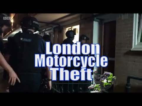 Motorcycle Crime London Met Policing London Bike Theft
