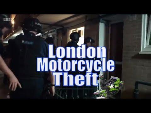 Motorcycle Crime London Met Policing London Bike Theft