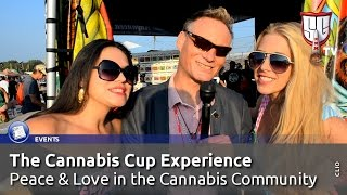 The Cannabis Cup Experience - Peace & Love at the Cannabis Community - Smokers Guide TV USA