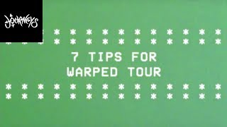 journeys andy blacks 7 tips for warped tour