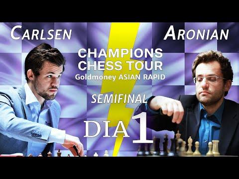 Dia de LUTA na Semifinal - Champions Chess Tour Asian Rapid 2021 - Dia 6