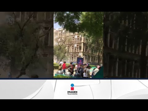 Impresionante video del TEC de Monterrey derrumbándose | Noticias con Ciro