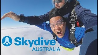 Bill Balo - Trải nghiệm nhảy Skydive ở Úc (Skydive Sydney Wollongong, Australia)