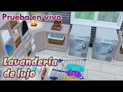 Sims Freeplay || Prueba en vivo: LAVANDERÍA DE LUJO (Especial)