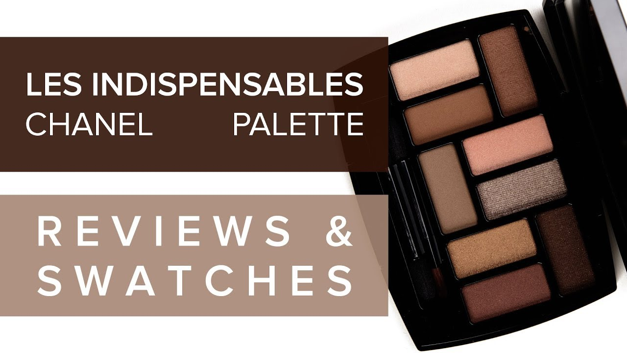 CHANEL LES INDISPENSABLES EYESHADOW PALETTE | REVIEW & SWATCHES ♫