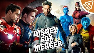 How the Disney Fox Merger Sets up the MCU's Future! (Nerdist News w/ Jessica Chobot)