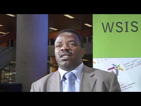 WSIS Forum 2011: Mr Salvator Nizigiyimana
