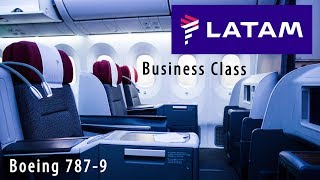 LATAM Business Class - Boeing 787-9 - Frankfurt to Madrid
