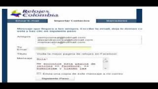 Reloj Gratis - RelojesColombia.com.co