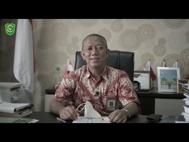 Ucapan Selamat Ulang Tahun Haluan Riau ke-21 dari Rektor Universitas Islam Riau