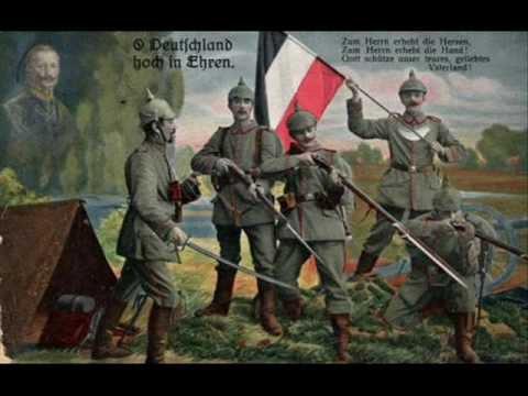 """Deutscher Militärmarsch """"Deutschland hoch in Ehren"""""""