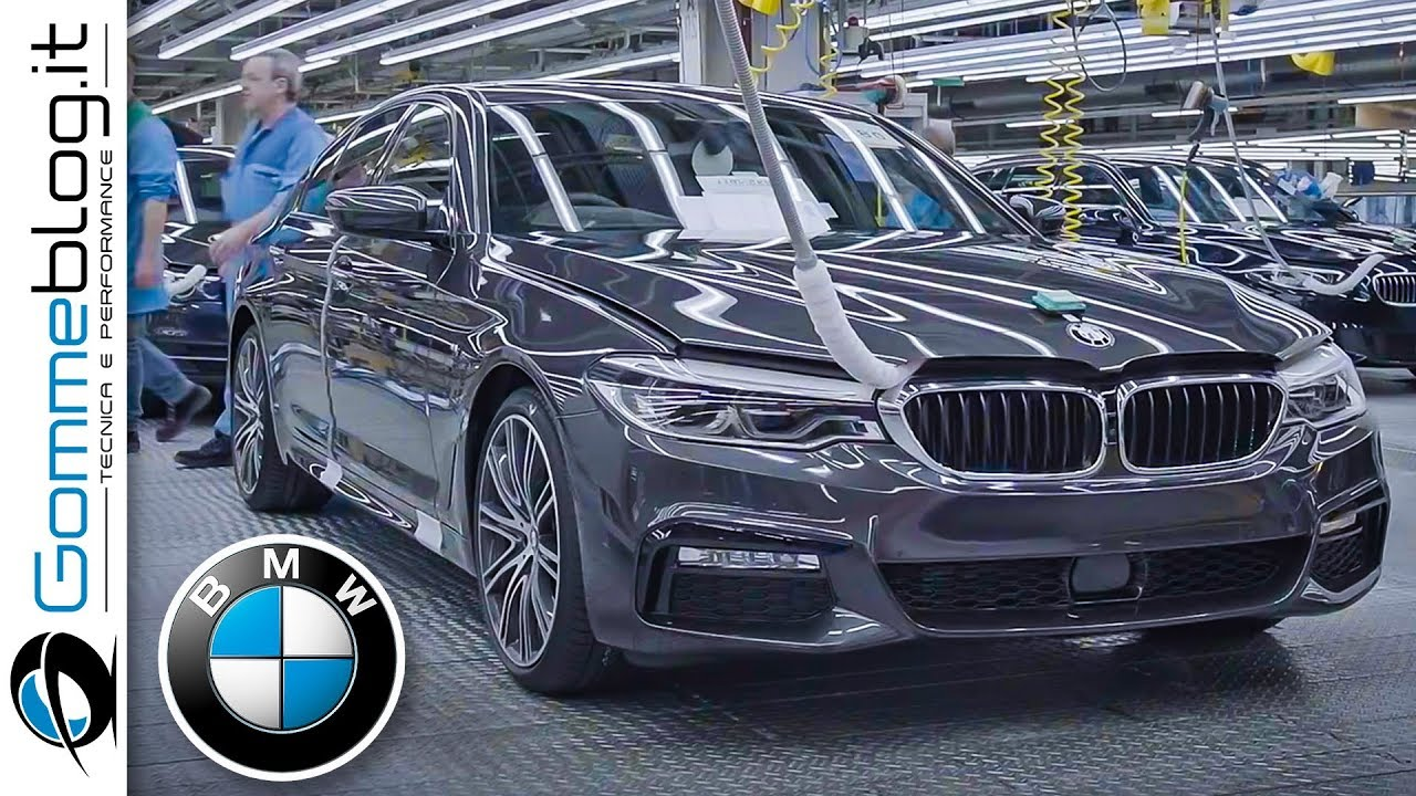 2020 Bmw 5 Series Production German Car Factory Youtube