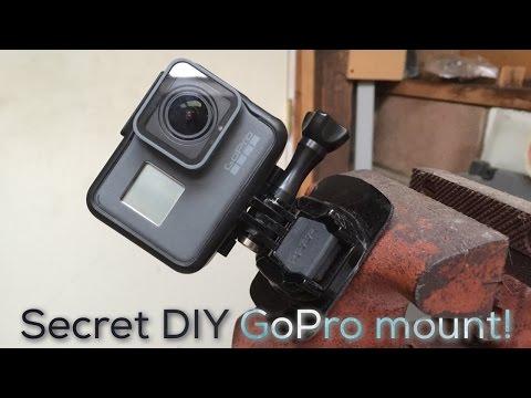Secret hidden special DIY GoPro mount!!!1!1!