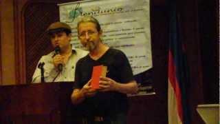 Plenilunio 102. Revista 51. Marzo 2, 2013. Milton Fabián Solano Zamudio presenta el evento.