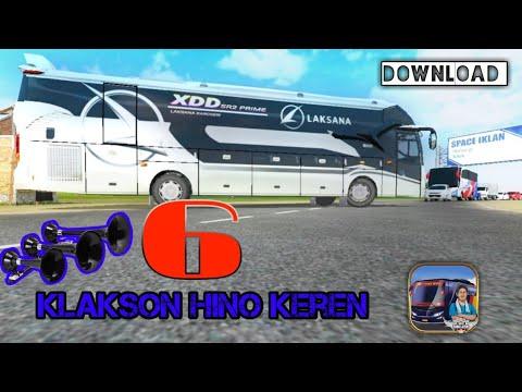 Jos! Mantep Enam Klakson Hino  Keren +link Download - Bus Simulator ID