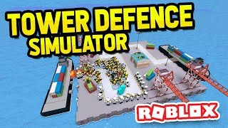ROBLOX TOWER DEFENCE SIMULATOR