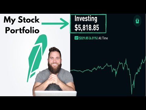 My $5,000+ Robinhood Stock Portfolio