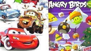 ANGRY BIRDS K'NEX ADVENT CALENDAR & CARS COUNTDOWN CALENDAR #1