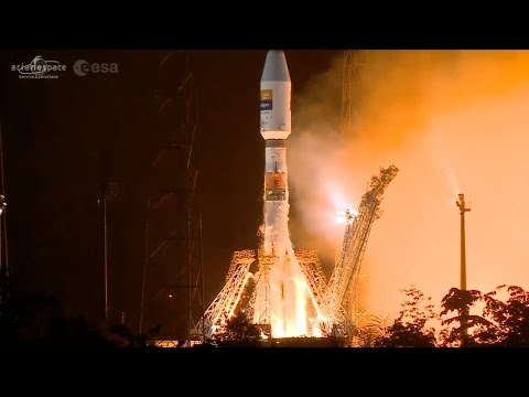 Soyuz blasts off on first Geostationary Delivery from French Guiana