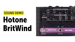 Hotone BritWind - Sound Demo (no talking)