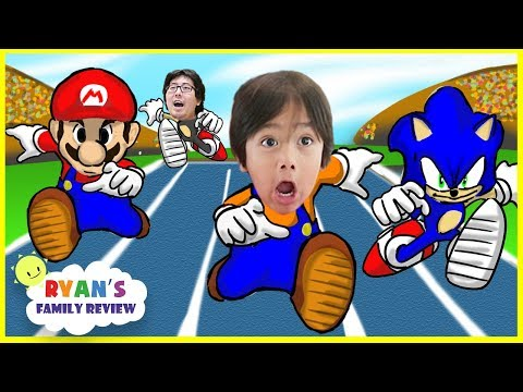 Thumbnail: Mario and Sonic Rio Olympic! Epic Boxing Match! Let's play with Ryan's Family Review