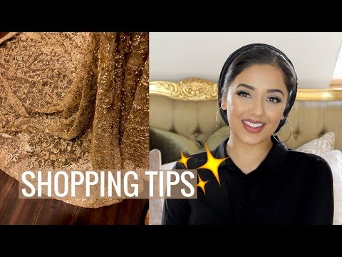 WEDDING SHOPPING IN PAKISTAN | TIPS AND ADVICE