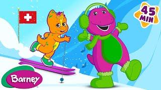 🌎🎶 Barney's Around the World Adventure - Part 1 (Full Episode)