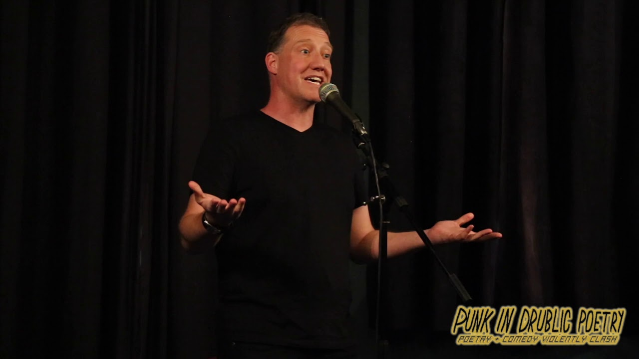 Paul Jenkins at Punk in Drublic Poetry